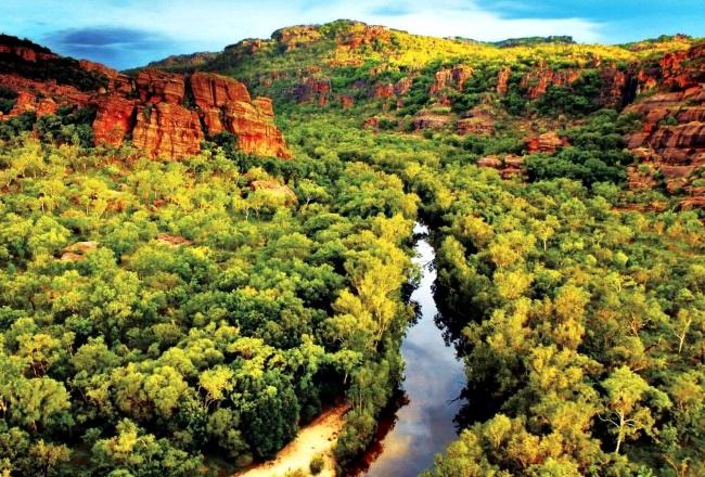 Австралия, парк «Какаду»